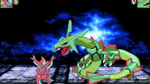 MUGEN Deoxys (Attack Form) Vs