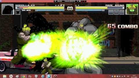 Metal Mugen 17 Godzilla EX And Dark Shar Makai vs 4 Cheap Characters