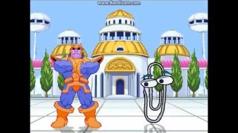 KAPPA MUGEN Showcase 16 Thanos 'clips' through the floor