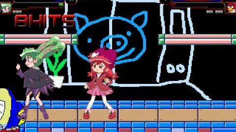 MUGEN Episode 109 Princess Fine & Bibin vs Mimizuku Teacher & Red Bird