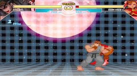 Mugen - Evil Ryu Super Moves Showcase