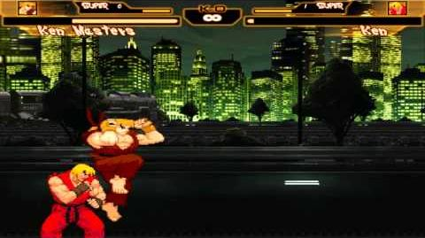 Mugen Ken Masters Mirror Match DCL vs Infinite