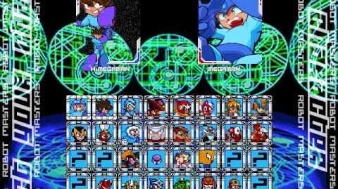 Megaman Robot Master Mayhem V1