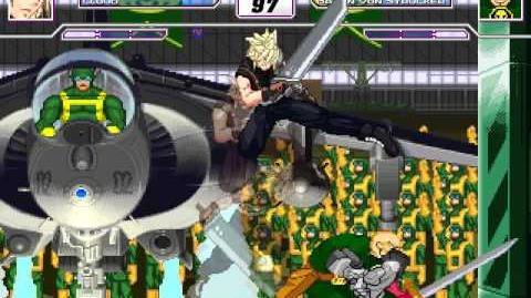 Mugen Cloud Strife (Final Fantasy) vs Baron Von Strucker (Marvel)