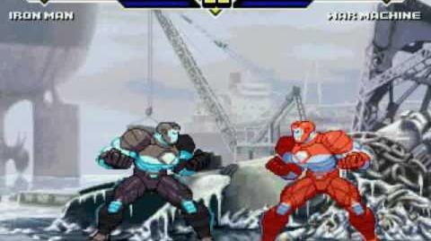Mugen Iron Man vs War Machine