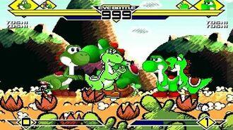 Yoshi's Party Part 2 4v4 Patch MUGEN 1.0 Battle!!!