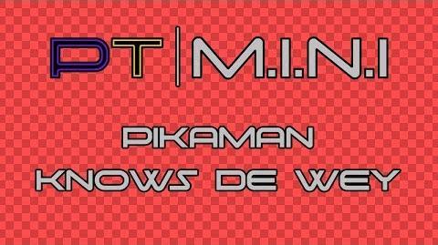 PT M.I.N.I - Pikaman Knows de Wey