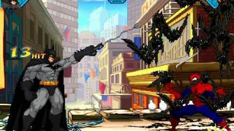 DC vs Marvel - Batman vs Spider-man