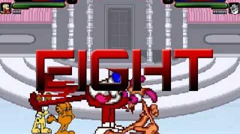 TheMattalocalypse Random Mugen Battle - 334 - Garfield & Odie VS