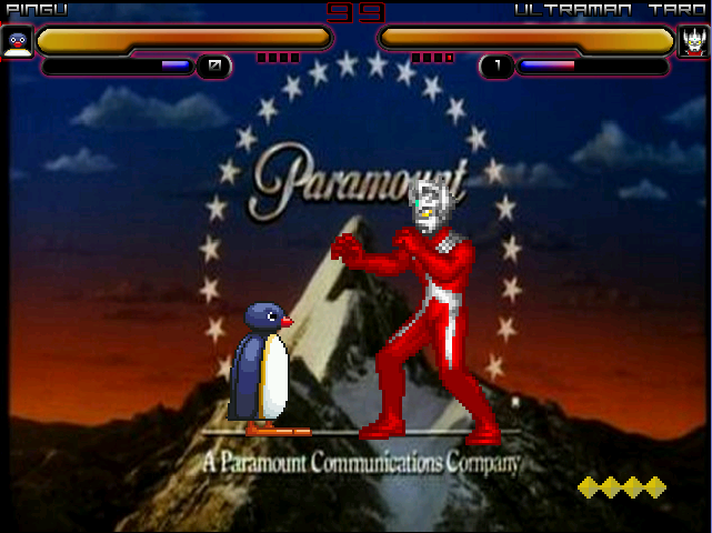 Paramountain Pingu and Taro