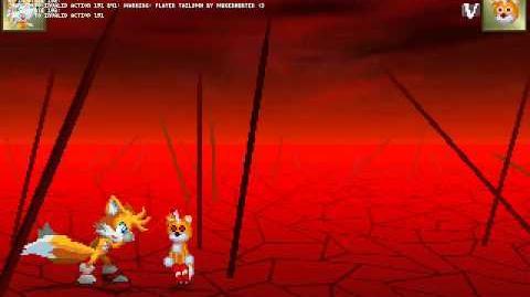 Tails Doll mata a Tails en el mugen