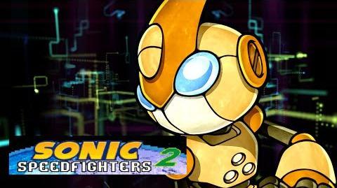 Sonic speed fighters2 La fuerza de gizoid