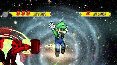MUGEN Will of prison flame and Mario-of-anger VS R-Luigi and Eternal second runner-up