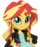 Sunset Shimmer/Shimmering Brony's version