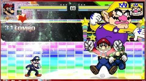 Mugen Mario Bros vs Wario Bros
