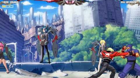 Mugen Rock Howard vs Ryu Hayabusa (chuchoryu)