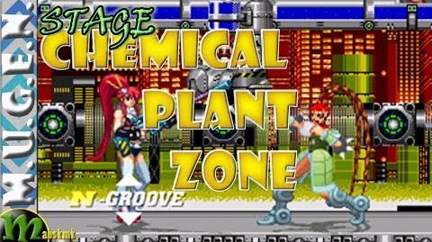 Mugen Stage 22 - Chemical Plant Zone - Yoko vs Tao