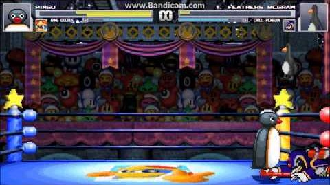 M.U.G.E.N. Somewhat Penguin Battle (Pingu & King Dedede vs