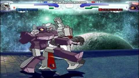 MUGEN Requested Fight Megatron vs Shockwave