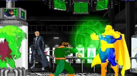 MUGEN PhD in Pain - Dr. Fate vs Dr