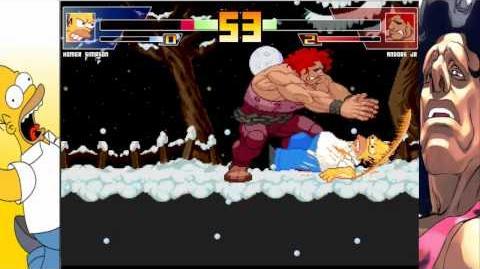 MUGEN RedMoon Homer Simpson vs Andore Jr