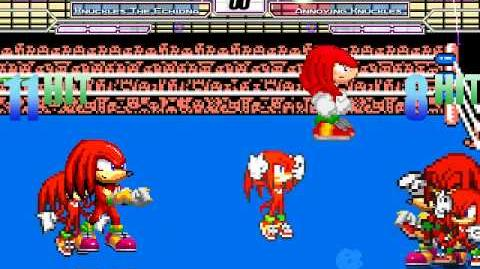 B Mugen 1.0 4v4 Knuckles Battle