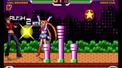 Mugen - Super Sailor Moon vs Vanessa