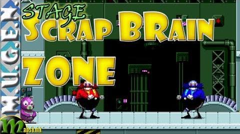 Mugen Sonic - Scrap Brain Zone - Robotnick vs EGGman