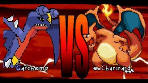 Mugen battle 2 Garchomp vs Charizard