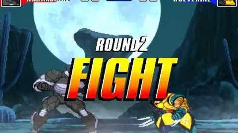 MUGEN MvC2 Classic 2 - Warmachine vs Wolverine