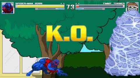 MUGEN Random Battle Spiderman-2099 Vs