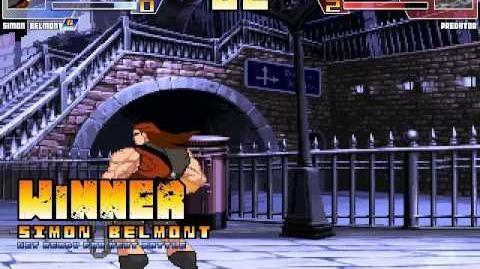 Random Mugen Battle- Simon Belmont vs
