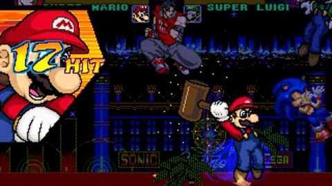 AK MUGEN - AaronTF & Supermario vs. Sonic & Superluigi Music Test