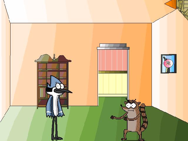 Mordecai and Rigby's Living Room