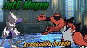 JetG Mugen Mewtwo vs. Krookodile