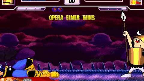 M.B.C. - 5th Fight Opera Elmer (0Elmer DDR 99 9) vs
