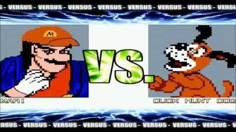 MUGEN Exhibition Mari VS Duck Hunt Dog