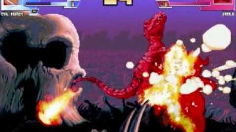 GMX Mugen Match 8 Evil Homer vs Team Primal Rage