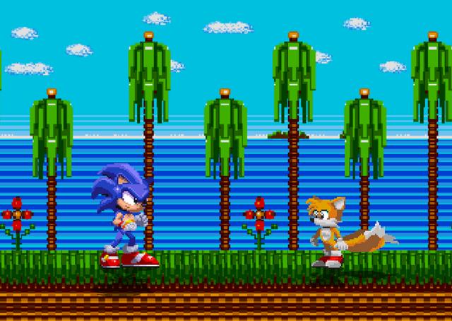 Sonic VS Tails Classic