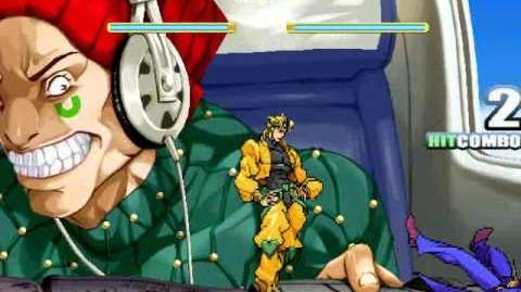MUGEN Jotaro vs Dio