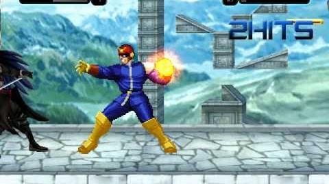 Mugen Battle Sephiroth vs Captain Falcon