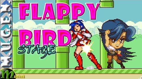 Mugen Stage 84 - Flappy Bird stg - Makendo vs Tanya