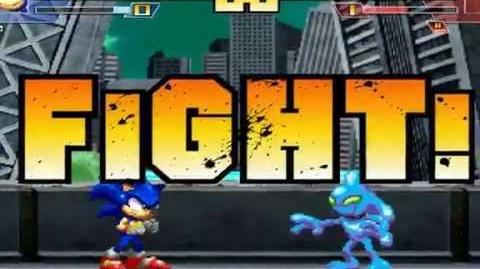 ST64 MUGEN Sonic the Hedgehog vs Chaos