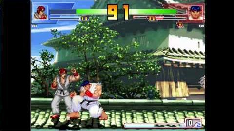 Mugen Battle Ryu (SF1) VS Ryu (SF3)