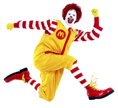 Image result for ronald mcdonald