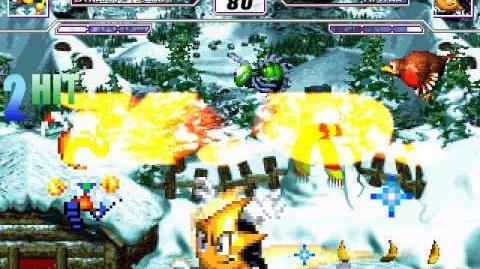 Mugen Dynamite Headdy VS Ristar