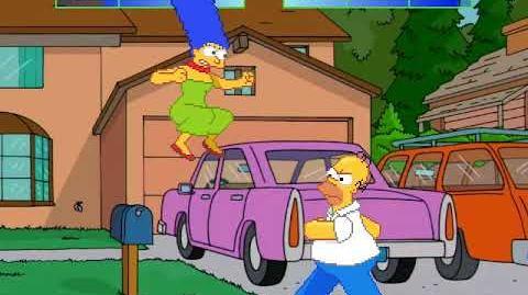 ShimBrony M.U.G.E.N Marge vs Homero