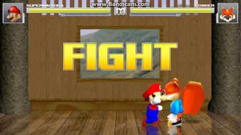 Super Mario 64 vs Conker