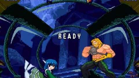 MUGEN Rulers of the Deep - Wakasagi-hime vs Aquaman