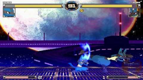 ☆MUGEN Version Check☆ Lucario(Haseo) vs Lucario(Moku)